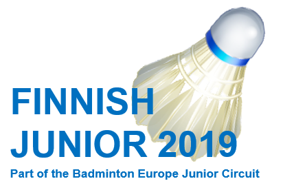FZ FORZA Finnish Junior 2019 Part of Badminton Europe Junior Circuit 2019, Junior International Series event tournament (U19)